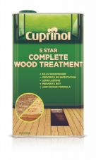 Cuprinol 5 Star Complete Wood Treatment - 5L